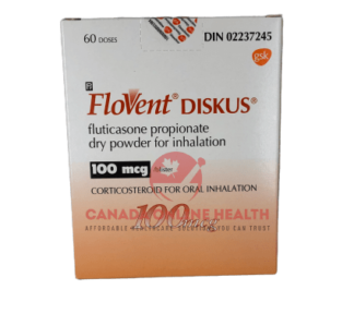 Flovent-Diskus-100mg- 60 doses-font view